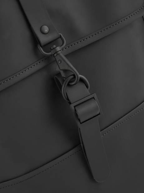 Business Rugzak Backpack Rains Zwart boston 1220 ander zicht 1