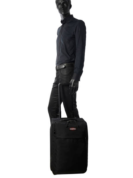 Valise Cabine Eastpak Noir authentic luggage K36D vue secondaire 3