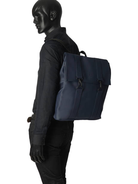 Sac à Dos Business Boston 1 Compartiment + Pc 15'' Rains Bleu boston 1213 vue secondaire 2