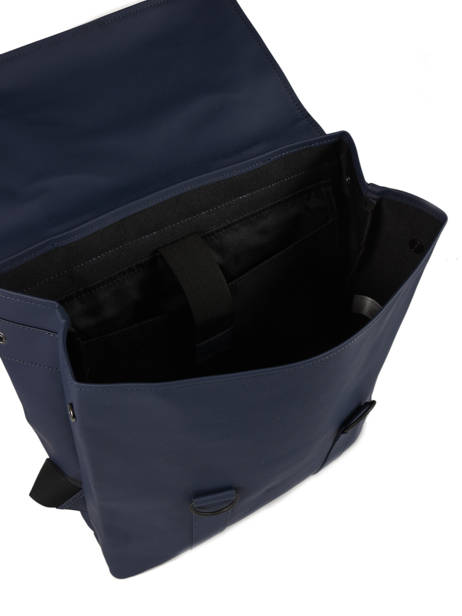 Sac à Dos Business Boston 1 Compartiment + Pc 15'' Rains Bleu boston 1213 vue secondaire 4