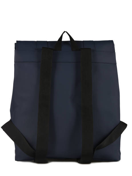 Sac à Dos Business Boston 1 Compartiment + Pc 15'' Rains Bleu boston 1213 vue secondaire 3