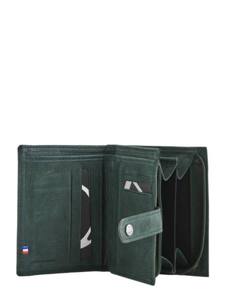 Porte-monnaie Cuir Etrier Vert selle 810708 vue secondaire 1