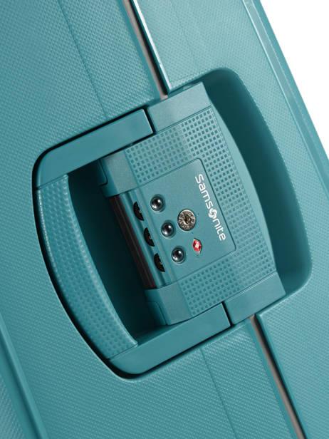 Valise Rigide S'cure Samsonite Bleu s'cure 10U002 vue secondaire 1