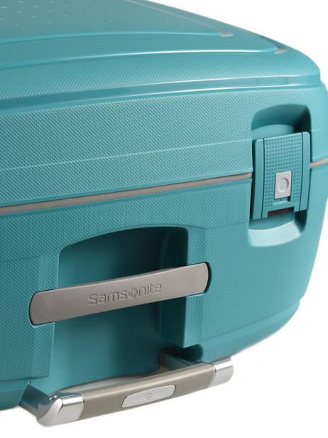 Valise Rigide S'cure Samsonite Bleu s'cure 10U002 vue secondaire 2