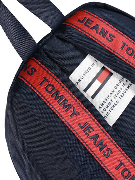 Sac à Dos Tommy hilfiger Bleu tju logo AU00398 vue secondaire 1