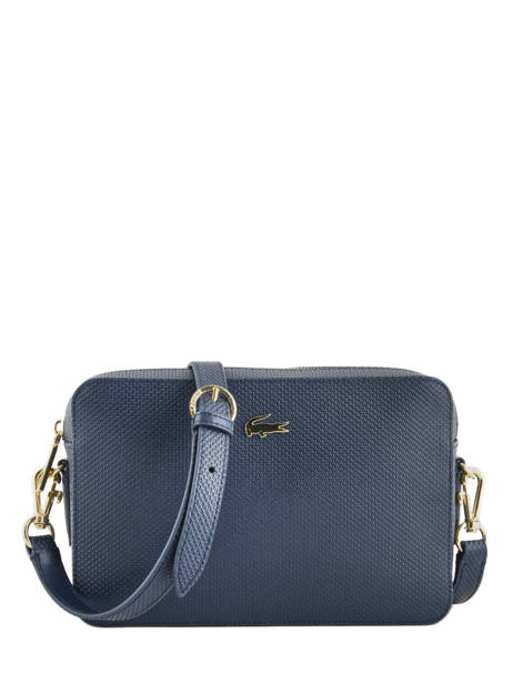 Cross Body Tas Chantaco Leder Lacoste Blauw chantaco NF2731CE