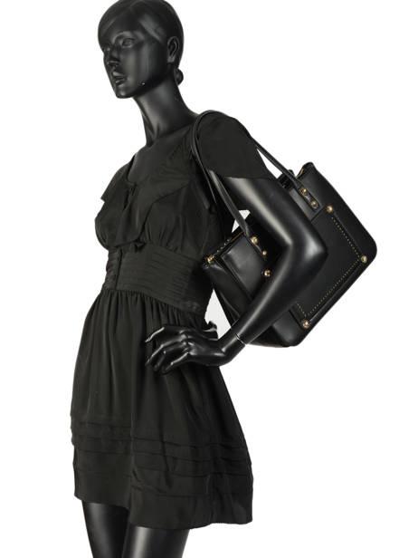 Sac Shopping Aniene Liu jo Noir aniene A19058 vue secondaire 2