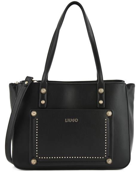 Sac Shopping Aniene Liu jo Noir aniene A19058