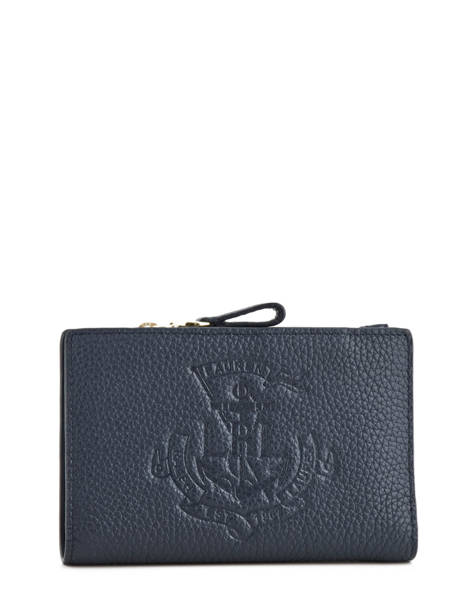 Portefeuille Cuir Lauren ralph lauren Bleu huntley 32707746