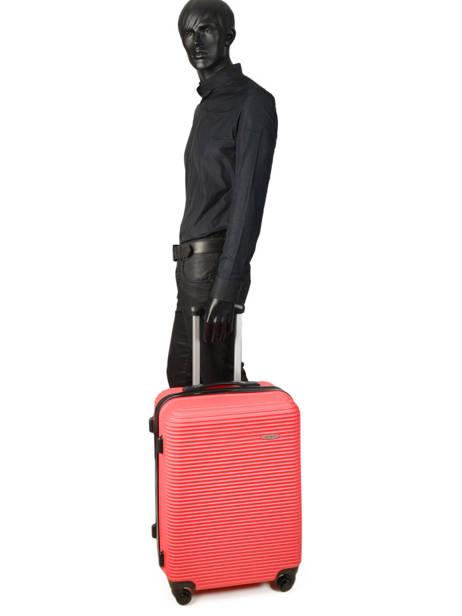 Valise Rigide Madrid Travel Rouge madrid IG1701-M vue secondaire 3