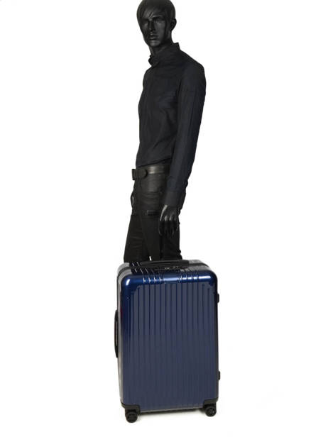 Valise Rigide Essential Lite Rimowa Bleu essential lite 823-63-4 vue secondaire 3