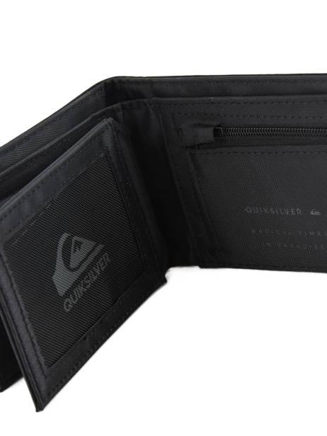 Portefeuille Porte-monnaie Quiksilver Noir wallets QYAA3775 vue secondaire 3