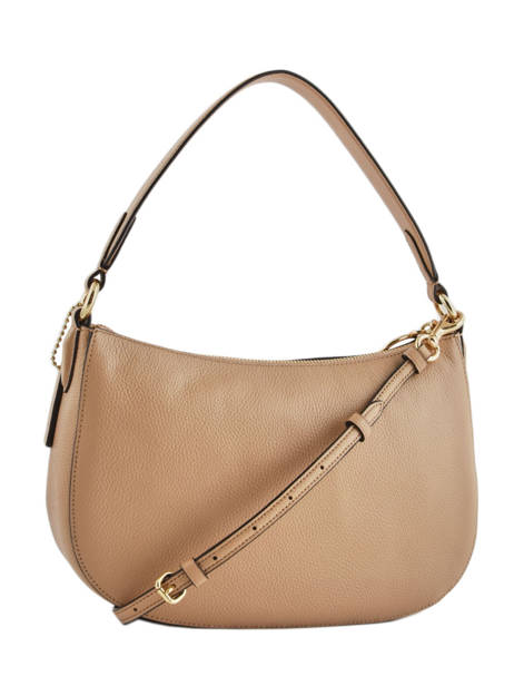 Cross Body Tas Sutton Leder Coach Beige sutton 52548 ander zicht 4