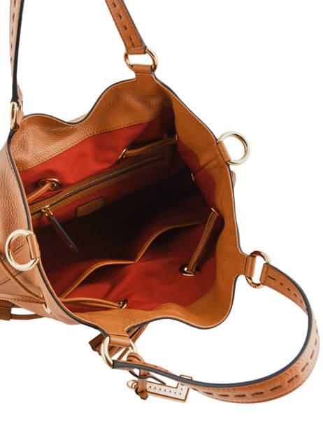 Bucket Bag M Premier Flirt Lancel Bruin premier flirt A10110 ander zicht 7