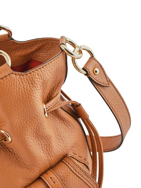 Bucket Bag M Premier Flirt Lancel Bruin premier flirt A10110 ander zicht 2