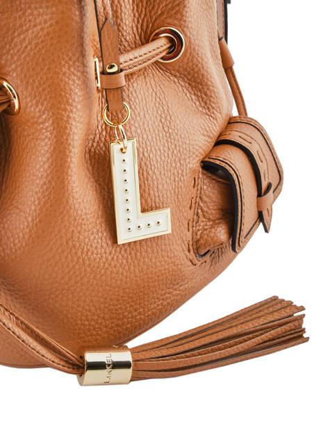Bucket Bag M Premier Flirt Lancel Bruin premier flirt A10110 ander zicht 1