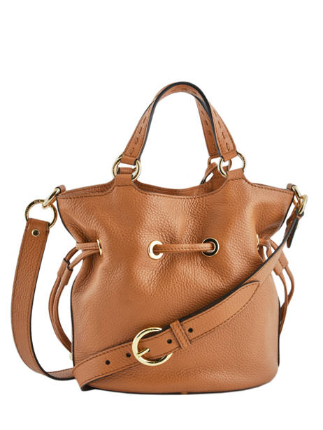 Bucket Bag M Premier Flirt Lancel Bruin premier flirt A10110 ander zicht 6