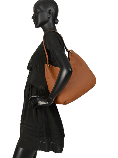 Sac Besace Tradition Cuir Etrier Marron tradition EHER21 vue secondaire 2