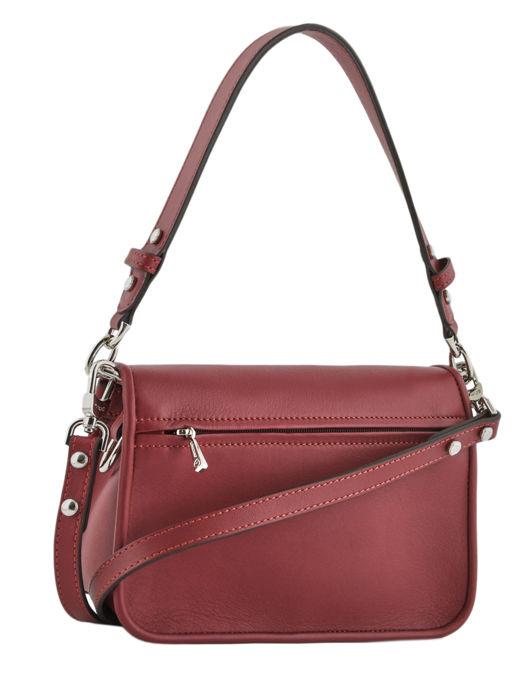 Longchamp Mademoiselle longchamp rock Sac porté travers Rouge