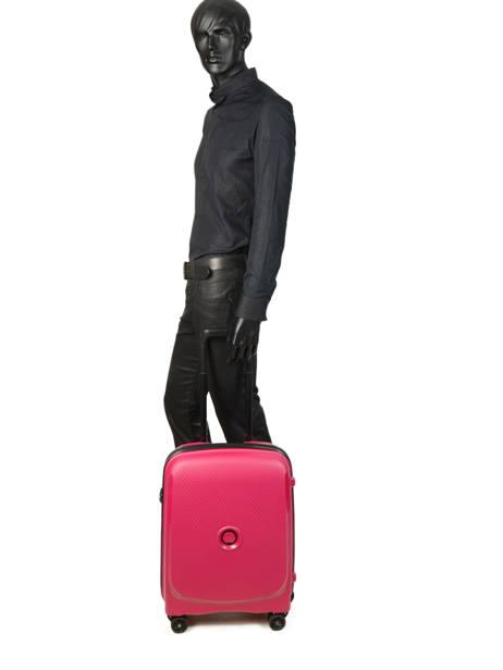 Handbagage Delsey Roze belmont + 3861803 ander zicht 3