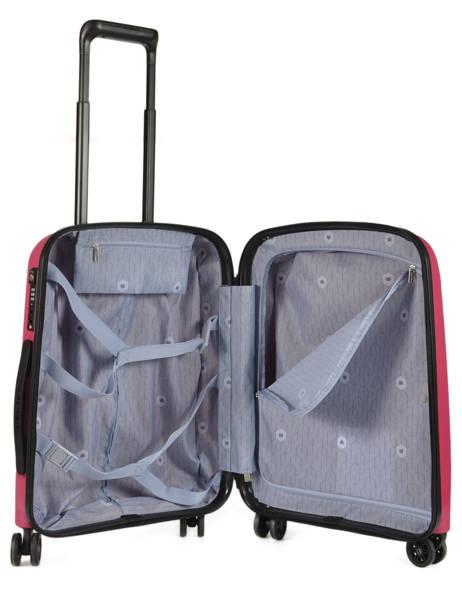 Handbagage Delsey Roze belmont + 3861803 ander zicht 5