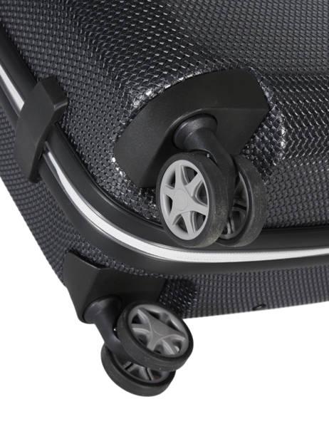 Handbagage Samsonite Zwart mixmesh CH6001 ander zicht 3