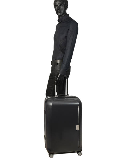 Valise Rigide Mixmesh Samsonite Noir mixmesh CH6002 vue secondaire 4