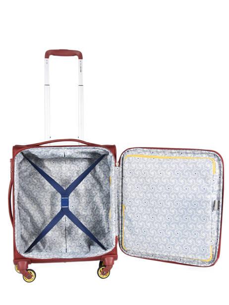 Handbagage Uitbreidbaar Delsey Rood chartreuse 3673803 ander zicht 4