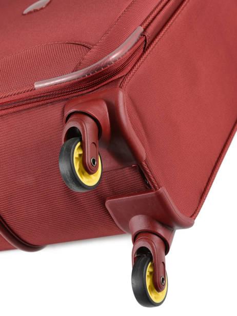 Handbagage Uitbreidbaar Delsey Rood chartreuse 3673803 ander zicht 2