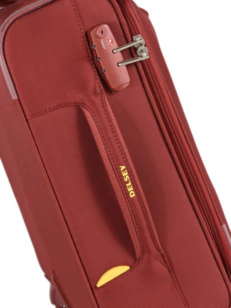 Handbagage Uitbreidbaar Delsey Rood chartreuse 3673803 ander zicht 1