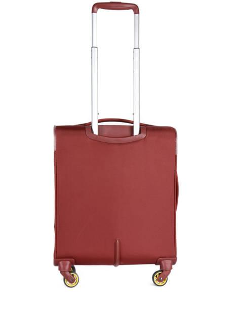 Handbagage Uitbreidbaar Delsey Rood chartreuse 3673803 ander zicht 3