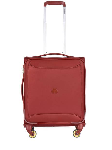 Handbagage Uitbreidbaar Delsey Rood chartreuse 3673803
