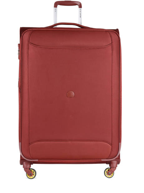 Valise Souple Extensible Chartreuse Delsey Rouge chartreuse 3673821