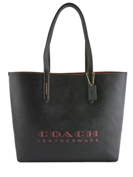 Cabas Highline Cuir Coach Noir highline 55199