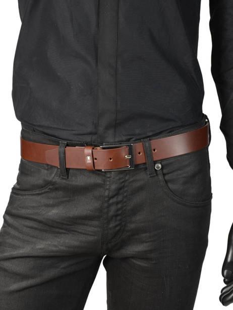 Ceinture Tommy hilfiger Noir belt AM04080 vue secondaire 2