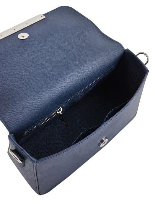 Longchamp Game on Sac porté travers Bleu