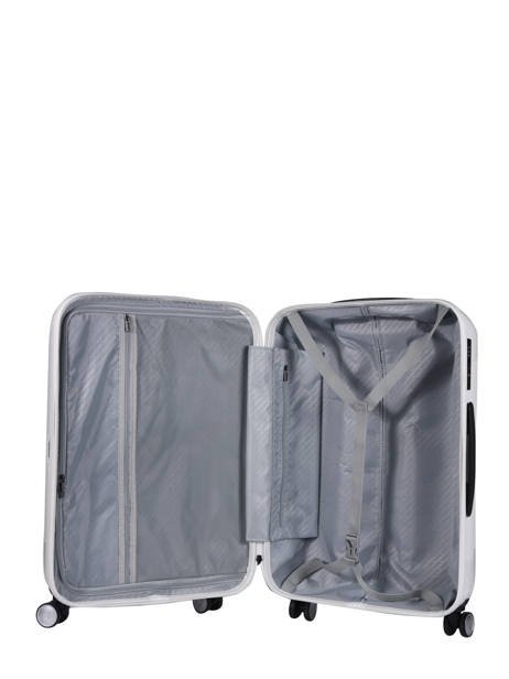 Valise Cabine Quadra Travel Blanc quadra 18802-S vue secondaire 4