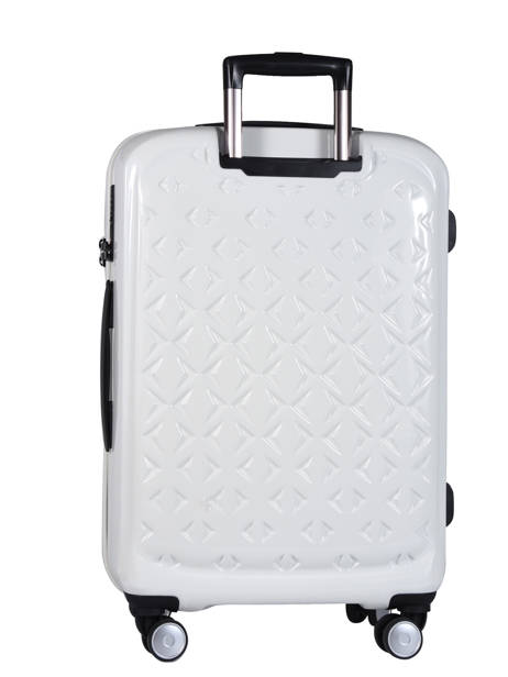 Valise Cabine Quadra Travel Blanc quadra 18802-S vue secondaire 3