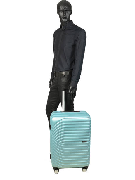Valise Rigide M Wind Travel Bleu wind 18812-M vue secondaire 2