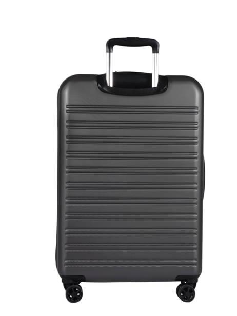 Handbagage Delsey Zwart segur 2.0 2058803 ander zicht 3