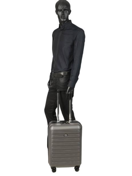 Handbagage Delsey Zwart segur 2.0 2058803 ander zicht 2