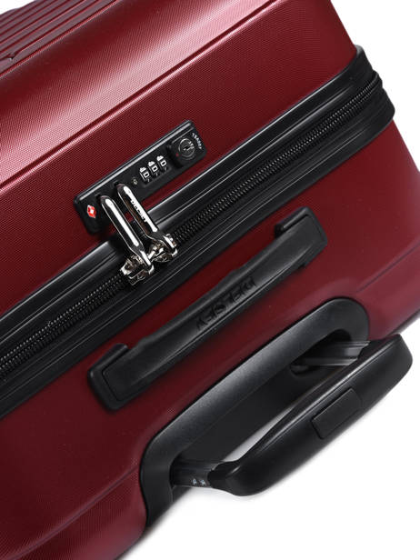 Valise Rigide Segur 2.0 Delsey Rouge segur 2.0 2058820 vue secondaire 1