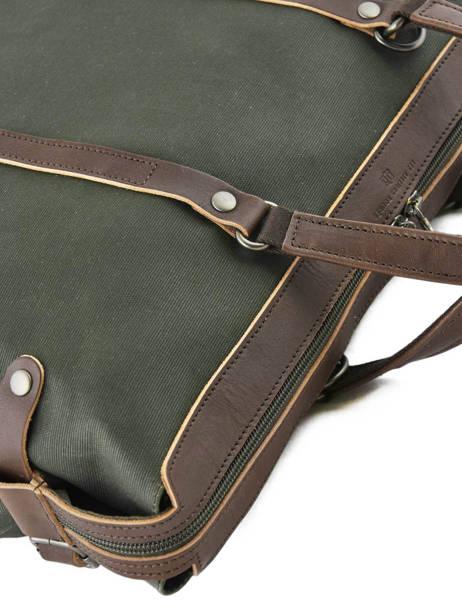 Porte-documents Foures Vert equipier F549 vue secondaire 1