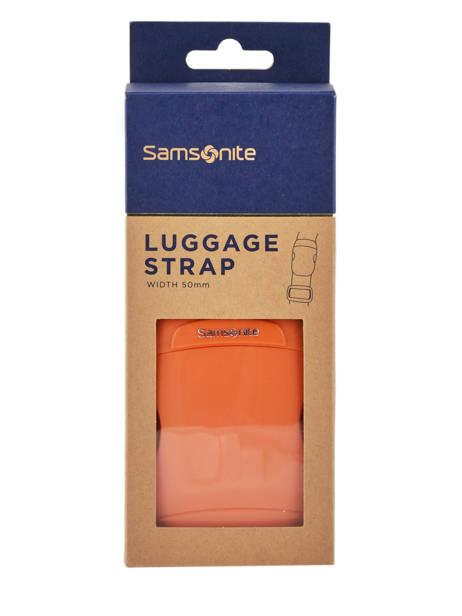 Sangle à Bagage Samsonite Orange accessoires C01056 vue secondaire 1