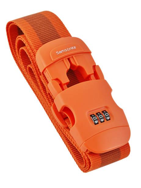 Sangle à Bagage Samsonite Orange accessoires C01058 vue secondaire 1