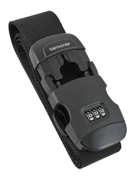 Bagageriem Samsonite Zwart accessoires C01058 ander zicht 1