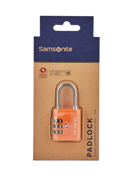 Cadenas Samsonite Orange accessoires C01099