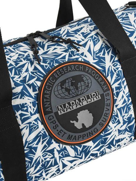 Sac De Voyage Bering Printed Napapijri Noir bering NOYIGS vue secondaire 1