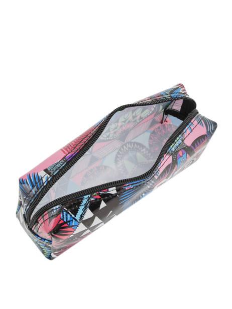 Trousse 1 Compartiment Superdry Multicolore accessories woomen G98003GR vue secondaire 3