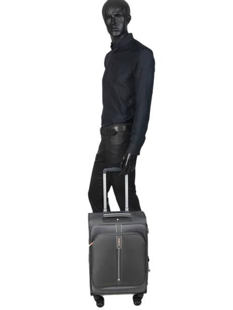 Handbagage Samsonite Grijs popsoda CT4002 ander zicht 3